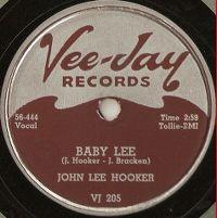 Cover John Lee Hooker - Baby Lee