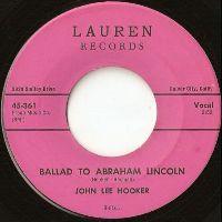 Cover John Lee Hooker - Ballad To Abraham Lincoln