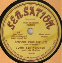 Cover John Lee Hooker - Boogie Chillen #2
