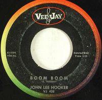 Cover John Lee Hooker - Boom Boom