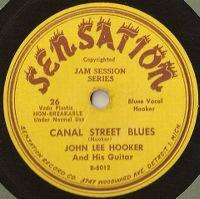 Cover John Lee Hooker - Canal Street Blues