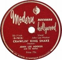 Cover John Lee Hooker - Crawlin' Kingsnake