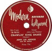 Cover John Lee Hooker - Crawlin' Kingsnake