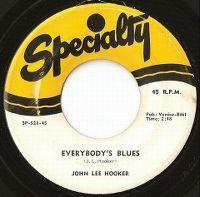 Cover John Lee Hooker - Everybody's Blues