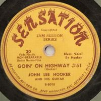 Cover John Lee Hooker - Goin' On Highway #51
