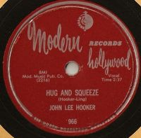 Cover John Lee Hooker - Hug And Squeeze