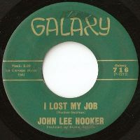Cover John Lee Hooker - I Lost My Job