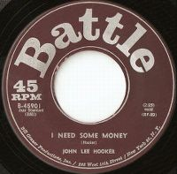 Cover John Lee Hooker - I Need Some Money