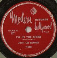 Cover John Lee Hooker - I'm In The Mood