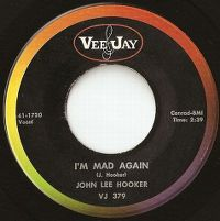 Cover John Lee Hooker - I'm Mad Again