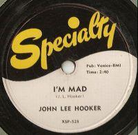 Cover John Lee Hooker - I'm Mad