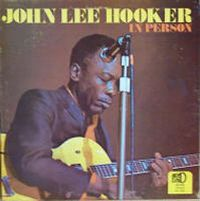 Cover John Lee Hooker - In Person