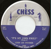 Cover John Lee Hooker - It's My Own Fault