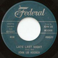 Cover John Lee Hooker - Late Last Night