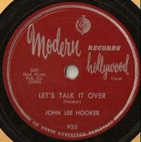 Cover John Lee Hooker - Let's Talk It Over