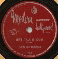 Cover John Lee Hooker - Let's Talk It Over