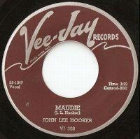 Cover John Lee Hooker - Maudie