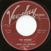 Cover John Lee Hooker - No Shoes