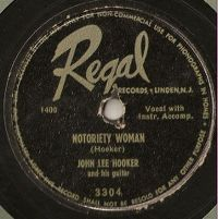 Cover John Lee Hooker - Notoriety Woman