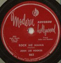 Cover John Lee Hooker - Rock Me Mama