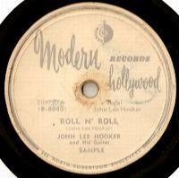 Cover John Lee Hooker - Roll N' Roll