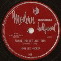 Cover John Lee Hooker - Shake, Holler And Run