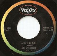 Cover John Lee Hooker - She's Mine