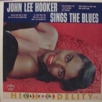 Cover John Lee Hooker - Sings The Blues