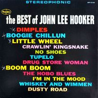 Cover John Lee Hooker - The Best Of