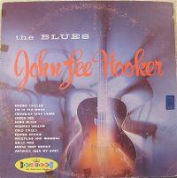 Cover John Lee Hooker - The Blues