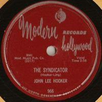 Cover John Lee Hooker - The Syndicator