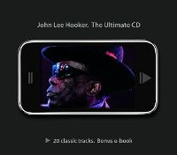 Cover John Lee Hooker - The Ultimate CD