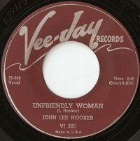Cover John Lee Hooker - Unfriendly Woman