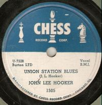 Cover John Lee Hooker - Union Station Blues