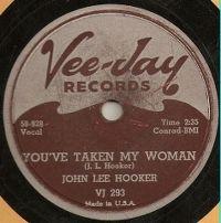 Cover John Lee Hooker - You've Taken My Woman