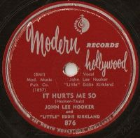 "Cover John Lee Hooker And ""Little"" Eddie Kirkland - It Hurts Me So"