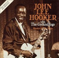 Cover John Lee Hooker With The Groundhogs - Hooker & The Hogs
