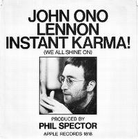 Cover John Lennon - Instant Karma!