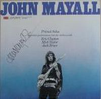 Cover John Mayall - Primal Solos
