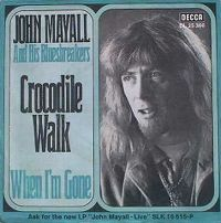 Cover John Mayall & The Bluesbreakers - Crocodile Walk
