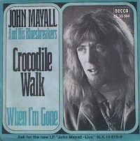 Cover John Mayall & The Bluesbreakers - Crocodile Walk