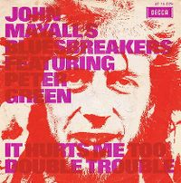 Cover John Mayall's Bluesbreakers feat. Peter Green - It Hurts To Be In Love