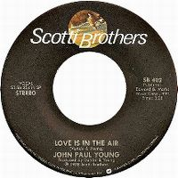 Cover John Paul Young - Love Is In The Air