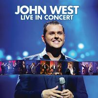 Cover John West - Live in Concert