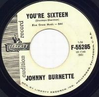 Cover Johnny Burnette - You're Sixteen