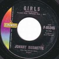 Cover Johnny Burnette With The Johnny Mann Singers - Girls