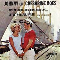 Cover Johnny & Caesarine Hoes - Als de klok van Arnemuiden