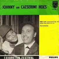 Cover Johnny & Caesarine Hoes - Blijf toch vanavond bij mij