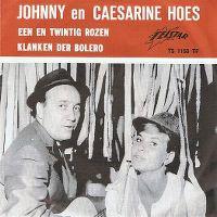 Cover Johnny & Caesarine Hoes - Een en twintig rozen