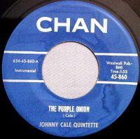 Cover Johnny Cale Quintette - The Purple Onion